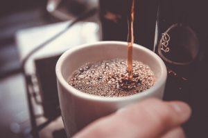 preparation d'un café expresso
