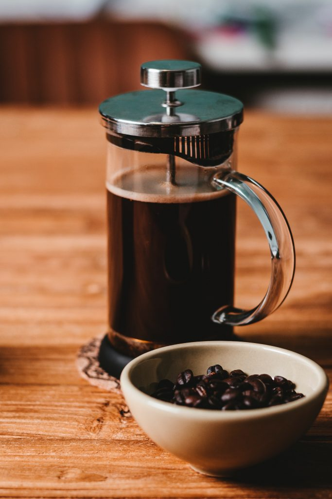 cafetière à presse